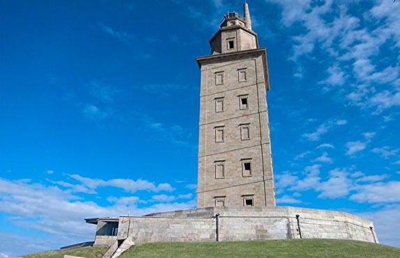 images de la ville de La-Coruna