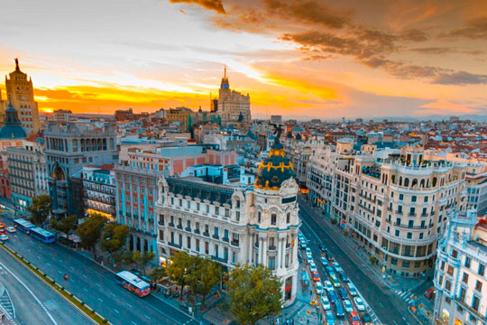 images of the city of Madrid