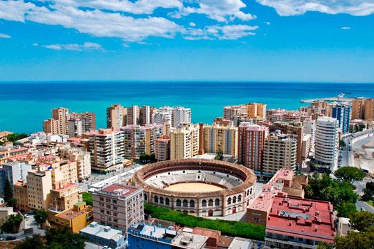 images de la ville de Malaga