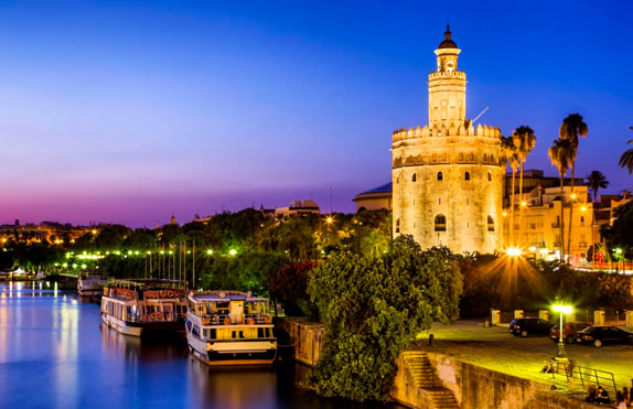 images of the city of Sevilla