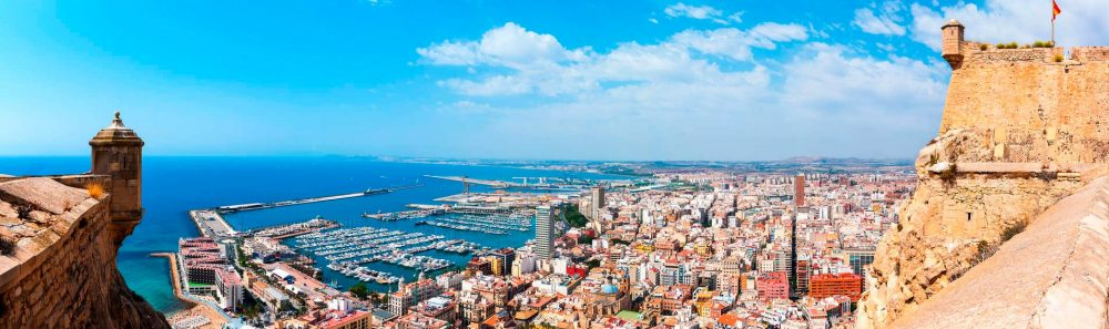 images de la ville de sl-Alicante