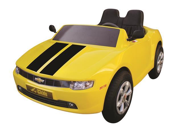 Mini Camaro amarelofaixa preta