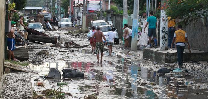 Chuvas em São Gonçalo