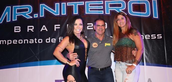 Michelly Boechat, Gustavo Costa e Christiane Rocha na Braff em Niterói