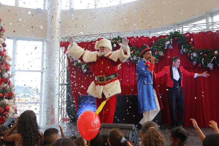 Papai Noel no Pátio Alcântara
