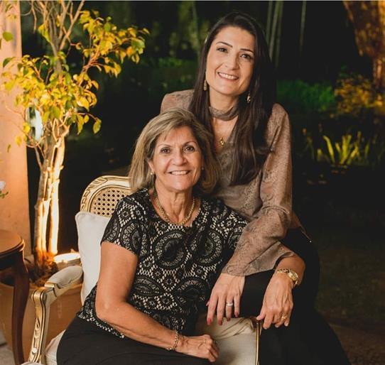 Doris e Monique Abrantes