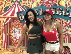Michelly Boechat e Viviane Araújo