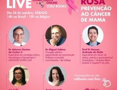 Editora Colli Books promove live em apoio à campanha Outubro Rosa