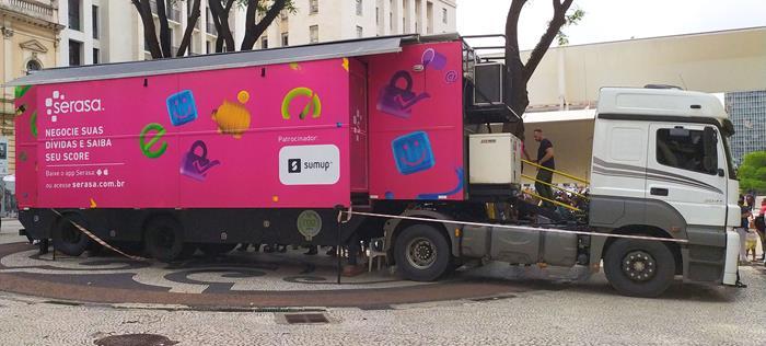 Caminhão Itinerante da Serasa chega a São Gonçalo
