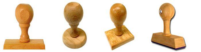 Sellos de madera para empresas