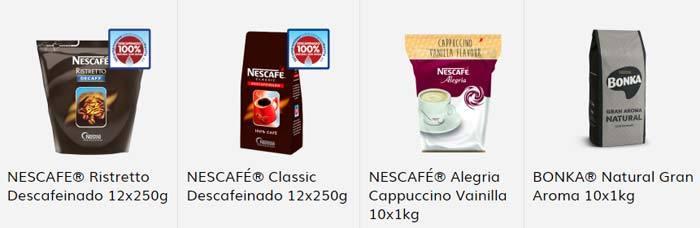 Café Bonka para máquinas vending