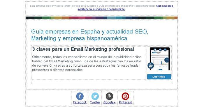 Newsletter HTML