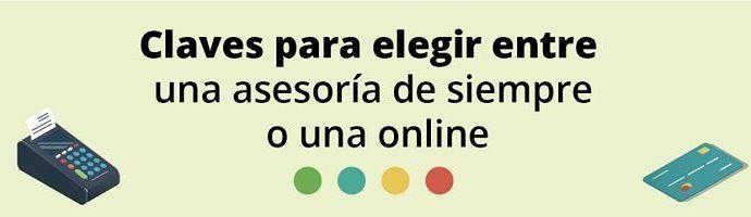 Elegir asesoría online o normal