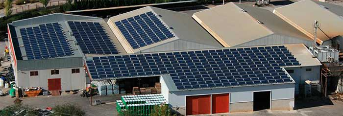 Frío industrial fotovoltaica