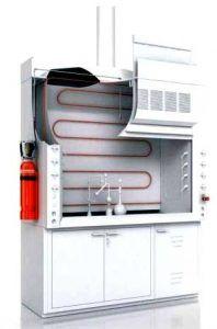 Sistema antiincendios para armarios extractores