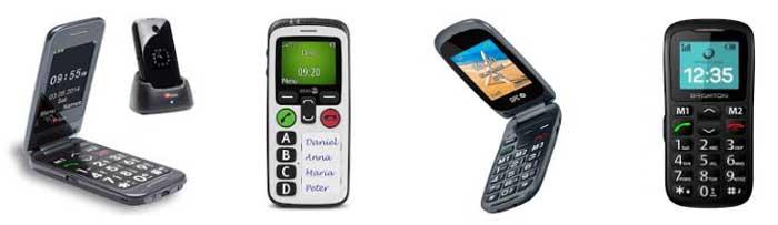 Mejores modelos teléfonos mayores