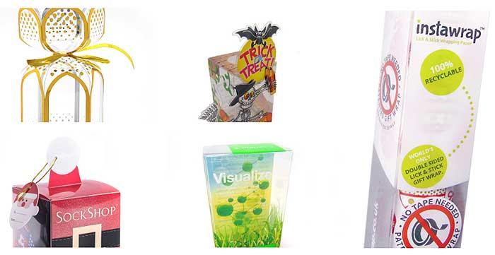 Cajas de plástico para regalos