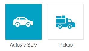Tipos de vehículo