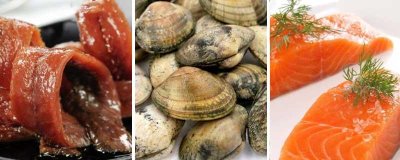 Productos gourmet del mar