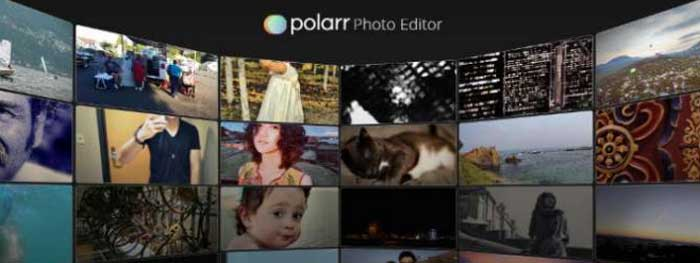 Editor de fotos Polarr