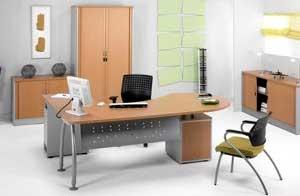 Mesa angular para oficina