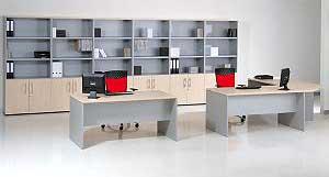 Mesas de oficina rectas