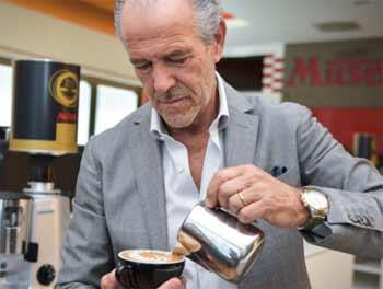 Luigi Lupi Inventor Latte Art