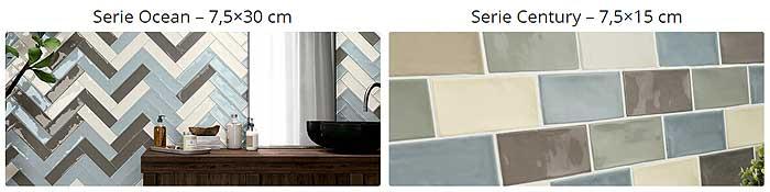 Tipos azulejos rústicos