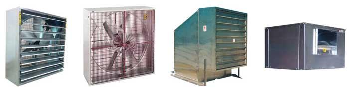 Equipos de ventilación