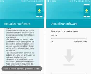 Reparar software móvil