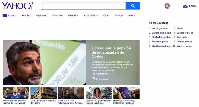 Home Yahoo.es