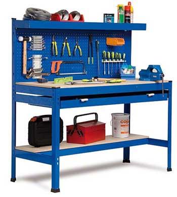 Banco de trabajo taller mecánico