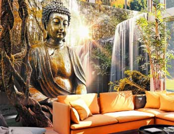 Fotomural budista
