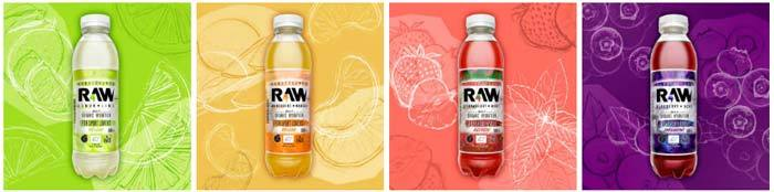 Tipos bebidas RAW Superdrink