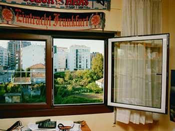Texturas ventanas de aluminio