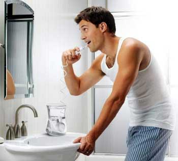 Cómo usar irrigadores dentales