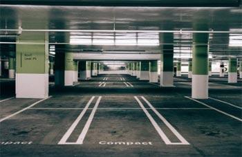 Pintura parking interior
