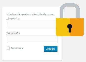 Cómo Proteger Formulario Login acceso WordPress