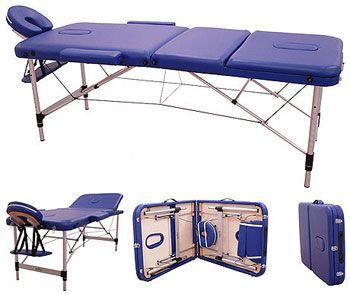 Camilla masajes plegable portátil