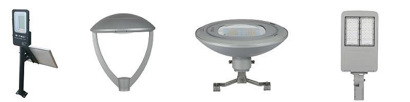 Farolas LED para alumbrado público