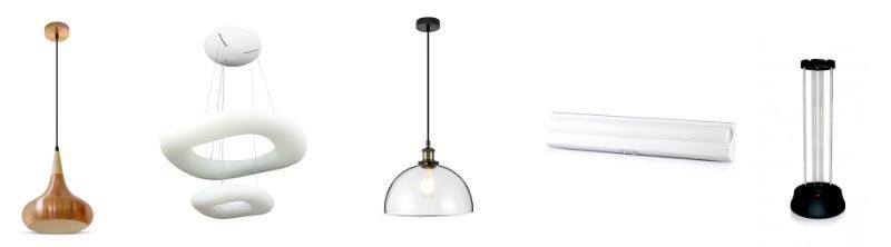 Lámparas LED para hogares