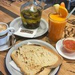Tostada de pan cateto La Vega Mijas