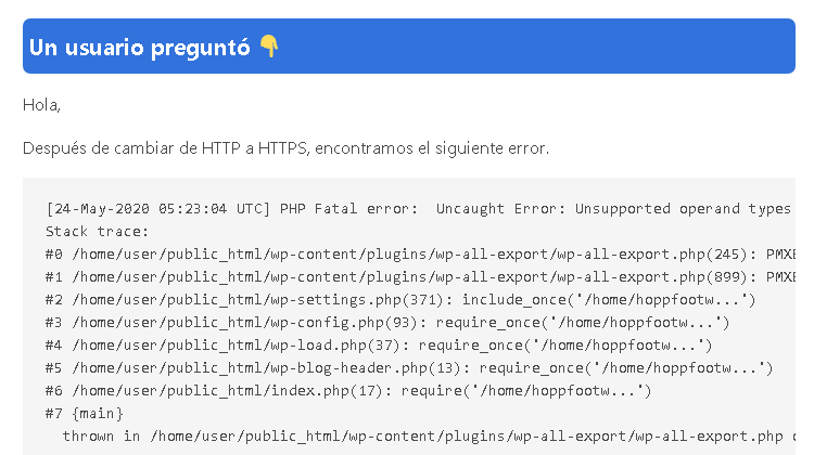Error cambiar http a https WordPress