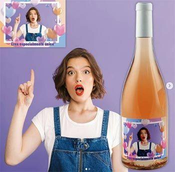 Personalizar botellas de vino