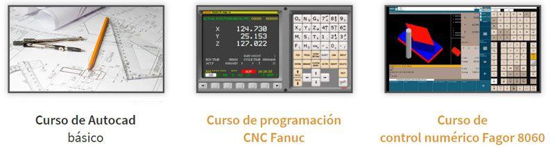 Cursos online fabricación mecánica