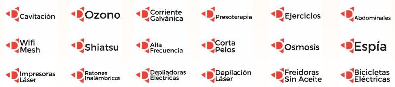 Comparativa aparatos electrónicos
