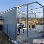 Instalación naves agrícolas prefabricadas