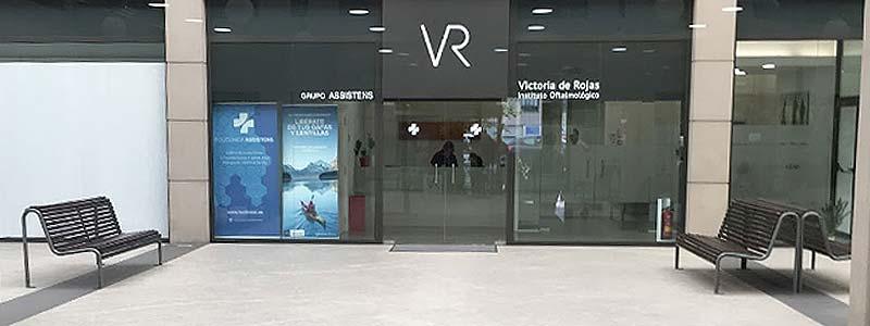 Localización Victoria de Rojas Instituto oftalmológico
