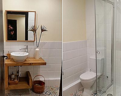Platos de ducha para ahorrar espacio