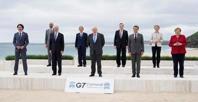 Reunión G7 Cornualles